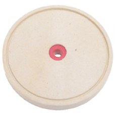"6"" Grooved Felt Wheel 1"" Thick"