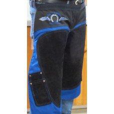 BATTLECREEK APRON BLUE/BLACK