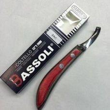 Bassoli ZAC Curved Blade Knife Left Handed