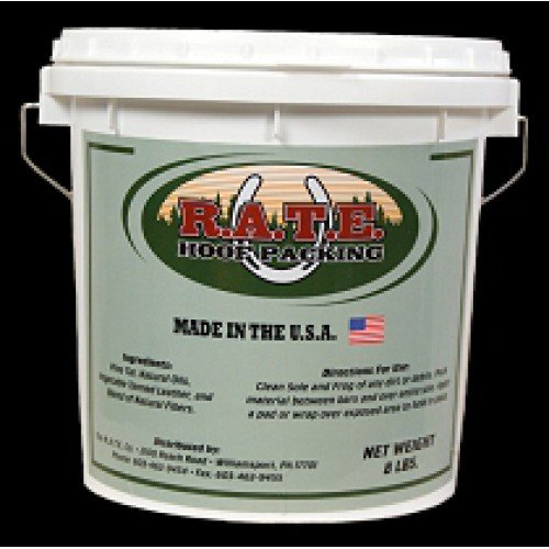 RATE HOOF PACKING  8LB BUCKET
