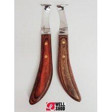 Bassoli LUCIFERO LH Curved Blade Knife w/pitch