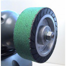 "6"" Expander Wheel Belt 100 Grit Blue Zirconia"