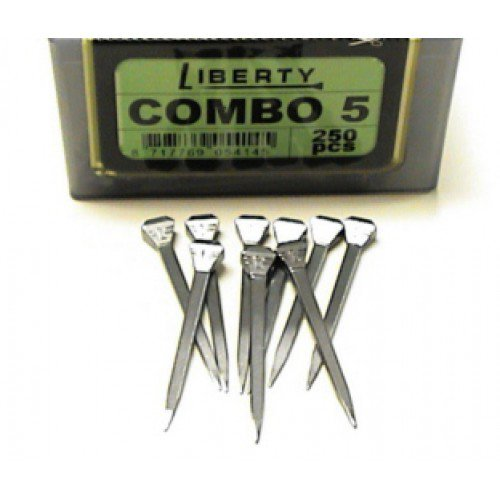 LIBERTY 5 COMBO NAIL   250 CT  12BX/CS