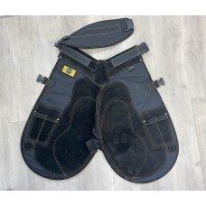 Pro Select Lite All Black X-Long Apron W/Velcro