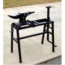 NC Folding Anvil Stand w/Vise