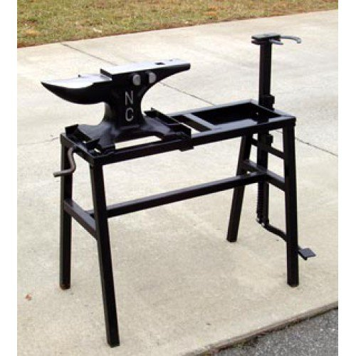 NC Rigid Anvil Stand w/Vise