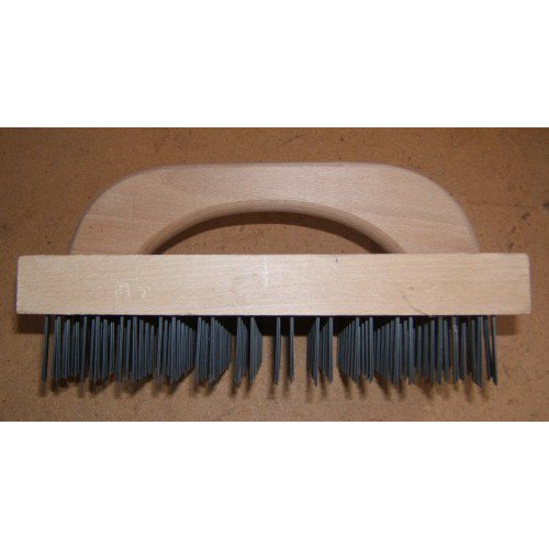 Large Butcher Block Brush with Handle