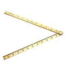 Pro Brass Folding Ruler 24""