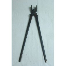 Jim Keith Flat Jaw Fire Tongs 7/16""