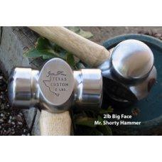 Flatland Forge 1.85 lb Big Face Mr. Shorty Rounding Hammer