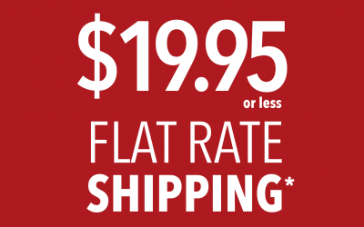$19.95 or less Flat Rate Shipping in Canada